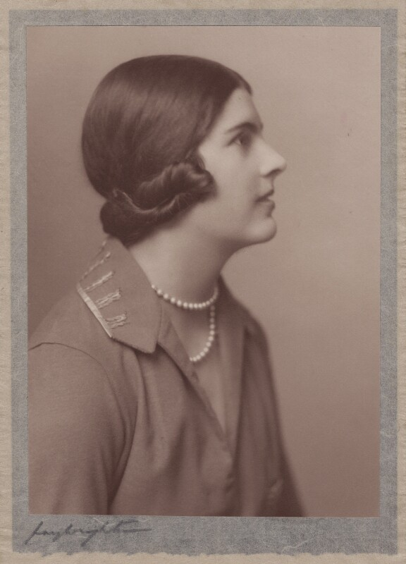 Lady Alexandra Henrietta Louisa Haig (later Alexandra Trevor-Roper, Lady Dacre), by Hay Wrightson, 1920s - NPG x182274 - © National Portrait Gallery, London