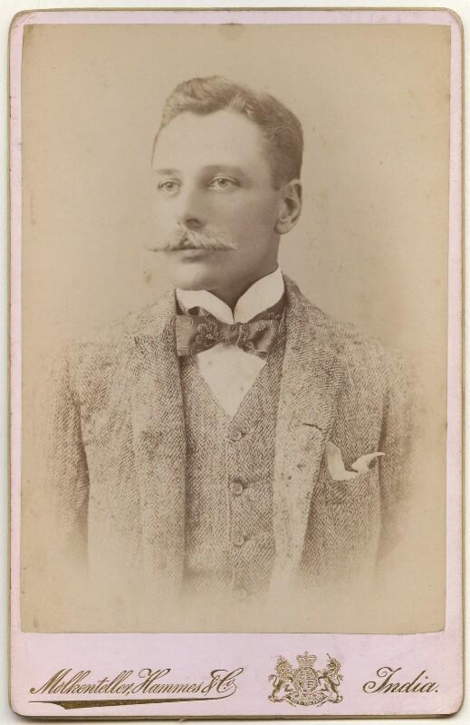 Douglas Haig, 1st Earl Haig, by Molkenteller, Hammes & Co, 1900s - NPG x182281 - © National Portrait Gallery, London