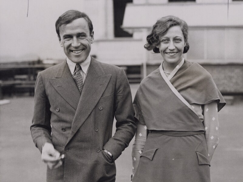 James Allan Mollison; Amy Johnson, by Central Press, 1932 - NPG x139783 - © National Portrait Gallery, London