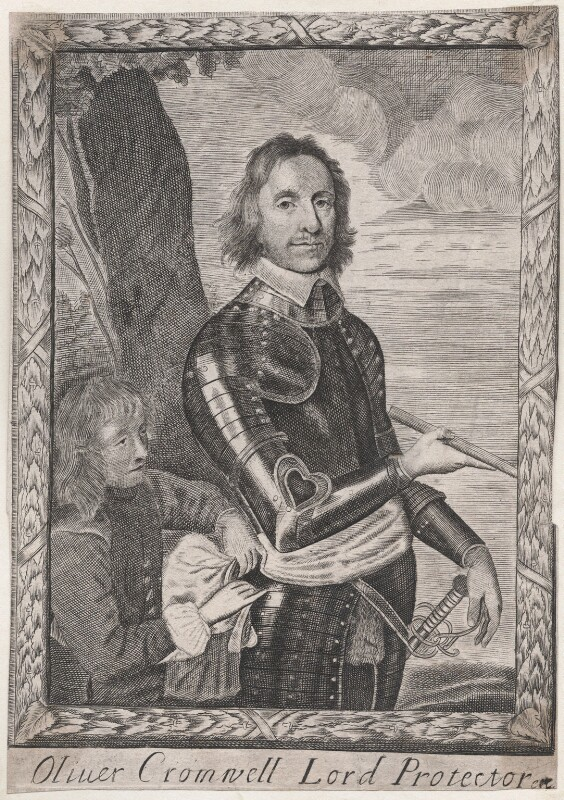 Oliver Cromwell, after Robert Walker, circa 1651-1658 (circa 1649) - NPG D42993 - © National Portrait Gallery, London