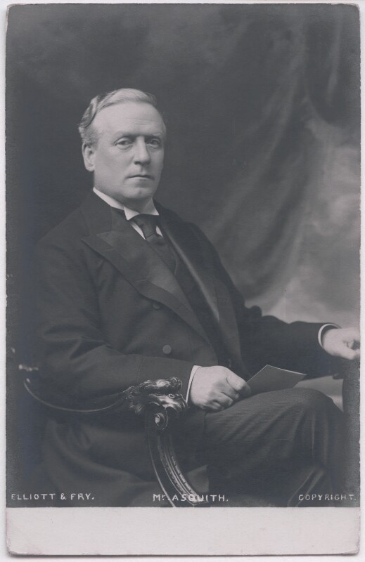 Herbert Henry Asquith, 1st Earl of Oxford and Asquith, by Elliott & Fry, circa 1904 - NPG x197707 - © National Portrait Gallery, London