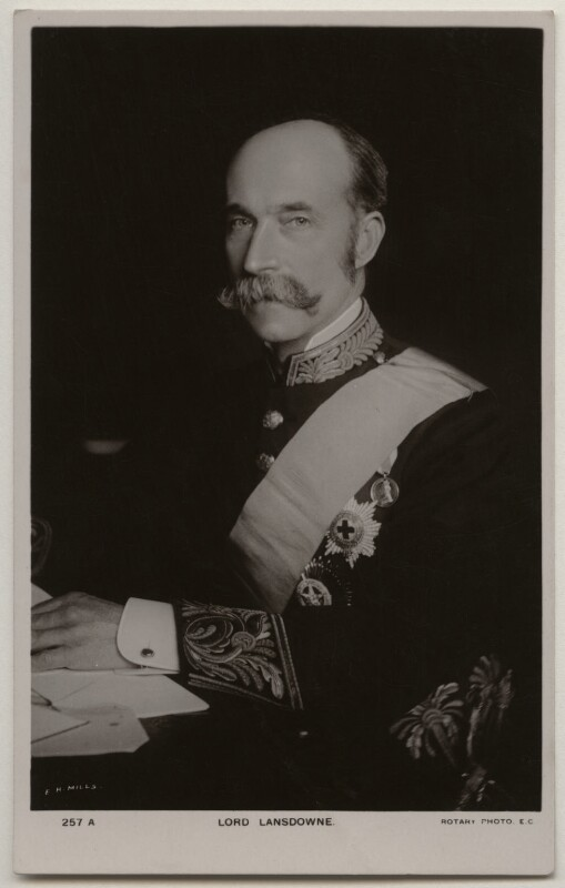 Henry Charles Keith Petty-Fitzmaurice, 5th Marquess of Lansdowne, by E.H. Mills, published by  Rotary Photographic Co Ltd, 1900s - NPG x197794 - © National Portrait Gallery, London