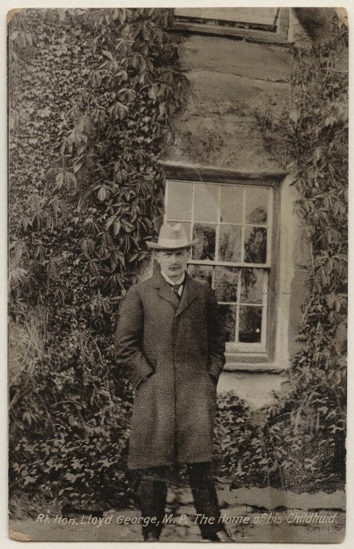 David Lloyd George, published by W.A. & S.S. (William Ashton & Sons, Southport), 1900s-1910s - NPG x197813 - © National Portrait Gallery, London