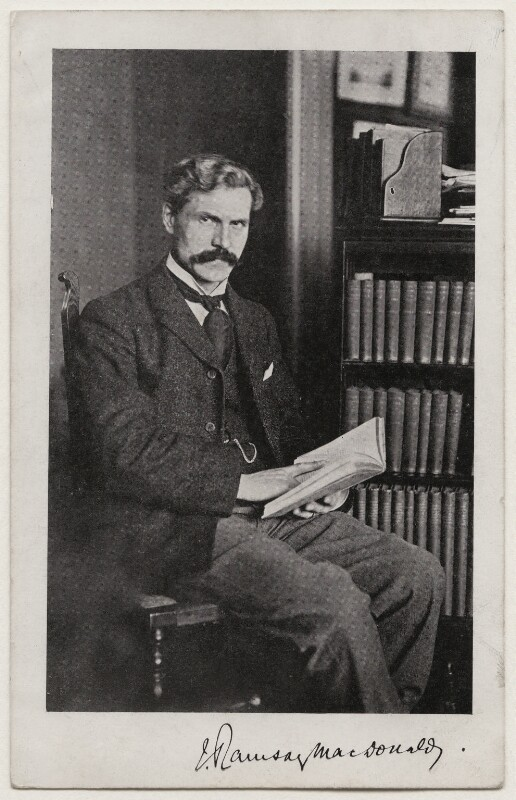 Ramsay MacDonald, published by Independent Labour Party ('I.L.P.'), circa 1910 - NPG x197826 - © National Portrait Gallery, London
