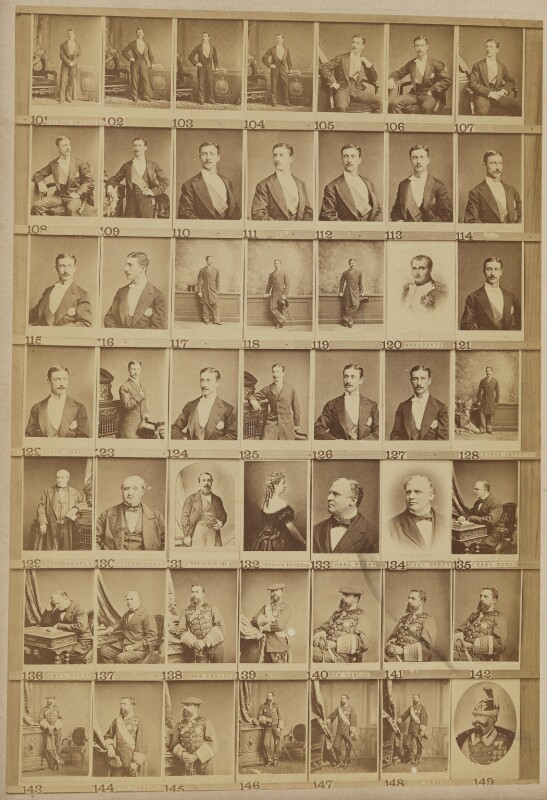 European royalty and others, by and after Elliott & Fry, 1890s - NPG Ax139903 - © National Portrait Gallery, London
