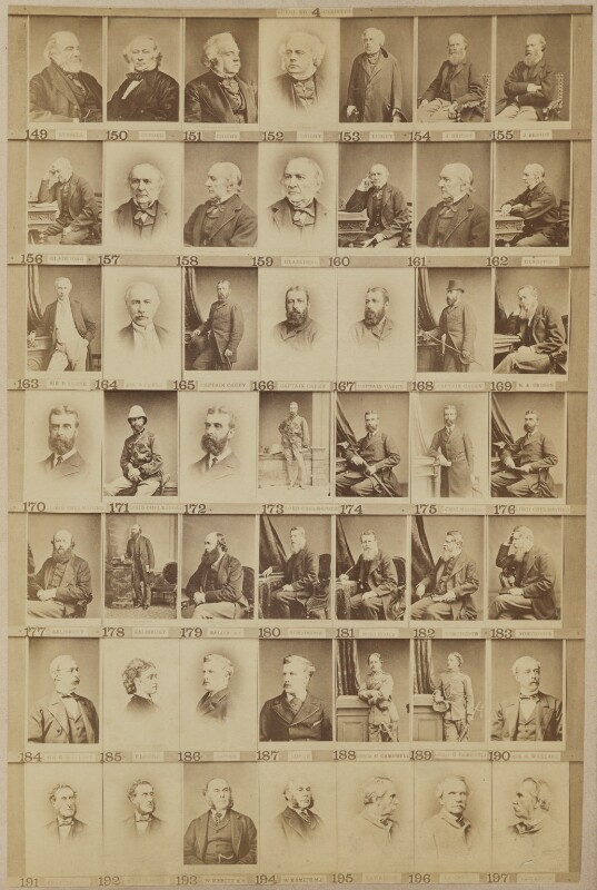 Various politicians and others, by and after Elliott & Fry, 1890s - NPG Ax139904 - © National Portrait Gallery, London