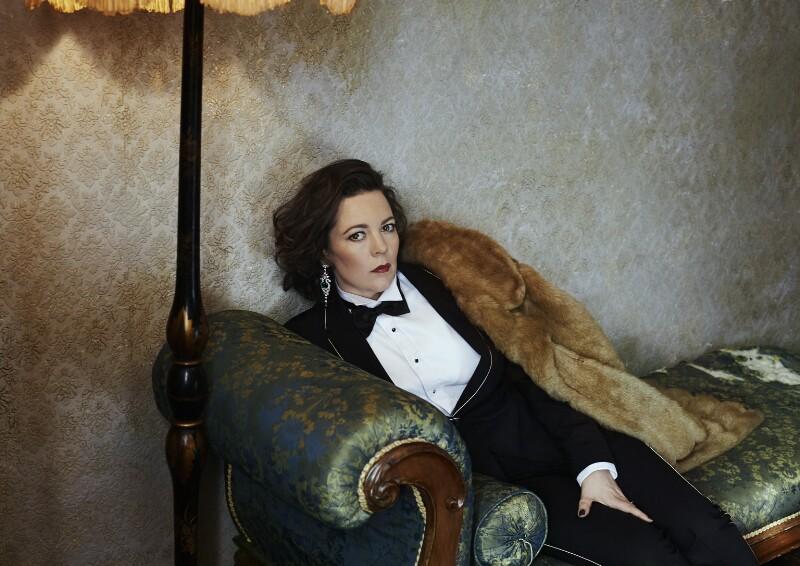 Olivia Colman, by Hana Knizova, 16 October 2014 - NPG x139974 - © National Portrait Gallery, London