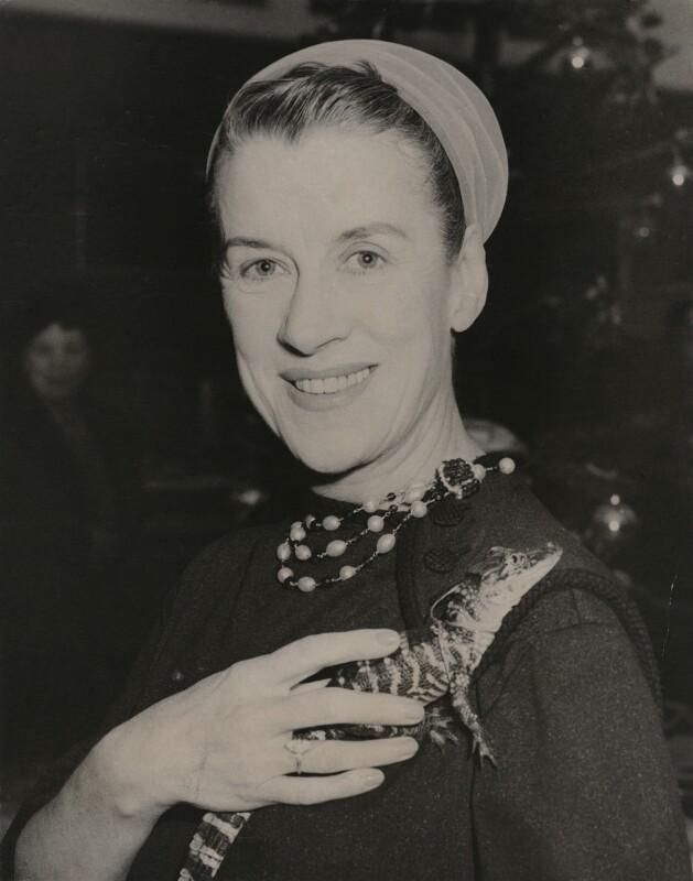 Beatrice Gladys Lillie (Lady Peel), by Keystone Press Agency Ltd, December 1956 - NPG x182401 - © Keystone Press Agency Ltd