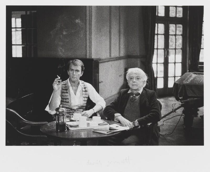 David Gwinnutt; Quentin Crisp, by David Gwinnutt, 1986 - NPG x139979 - © David Gwinnutt / National Portrait Gallery, London