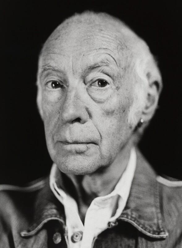 Roger McGough, by Luke Archer, 14 September 2014 - NPG x139991 - © Luke Archer/National Portrait Gallery, London