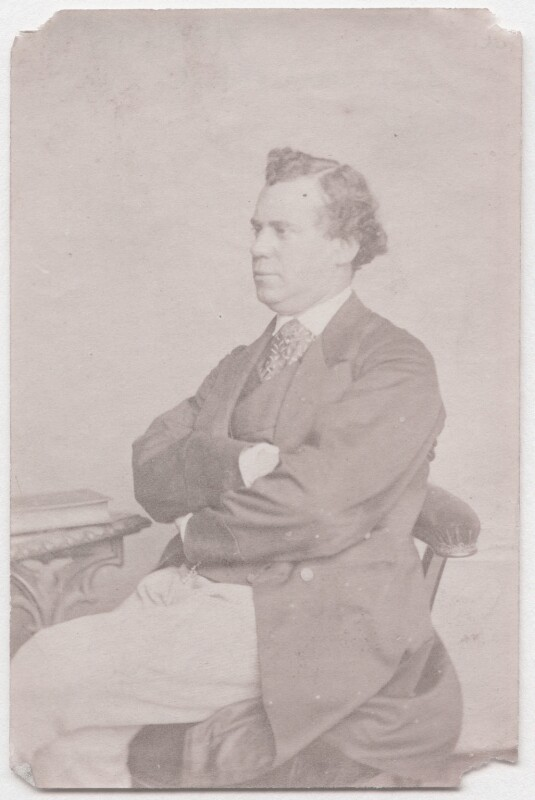 John Lawrence Toole, by Unknown photographer, 1860s - NPG x139998 - © National Portrait Gallery, London