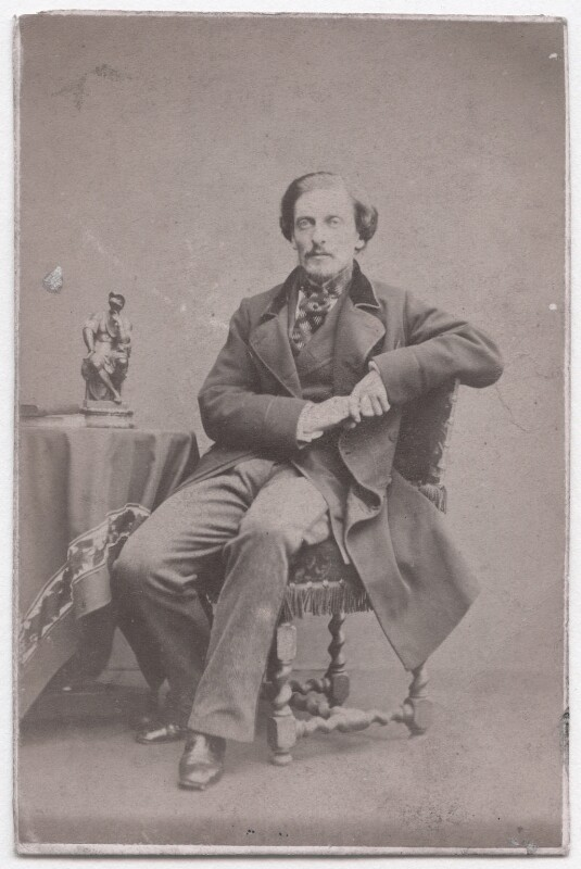 Frederick Temple Hamilton-Temple-Blackwood, 1st Marquess of Dufferin and Ava, by John Watkins, 1860s - NPG x139999 - © National Portrait Gallery, London