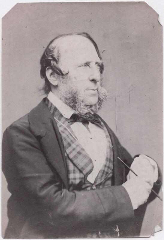 George Cruikshank, by Herbert Watkins, late 1850s - NPG x199004 - © National Portrait Gallery, London