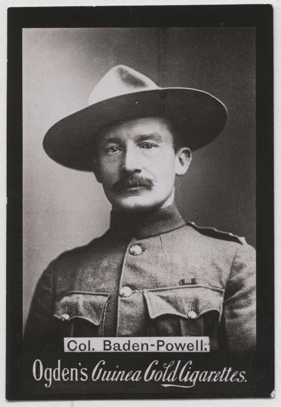 Npg X193153 Robert Baden Powell Portrait National