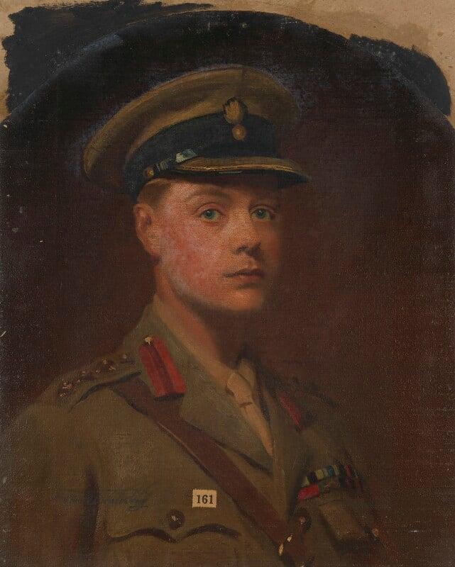 Prince Edward, Duke of Windsor (King Edward VIII) as Prince of Wales, by Frank Salisbury, 1917 - NPG 7006 - © National Portrait Gallery, London