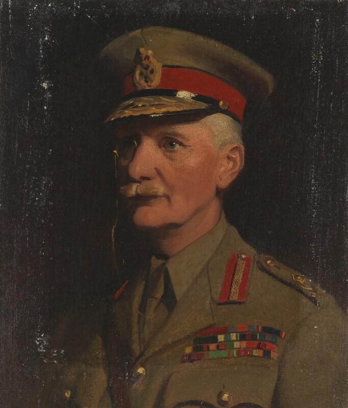 Sir Arthur Thomas Sloggett, by Frank Salisbury, 1917 - NPG 7007 - © National Portrait Gallery, London