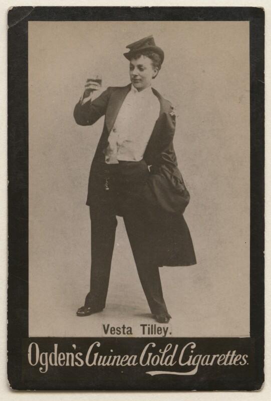 Vesta Tilley, published by Ogden's, published circa 1894-1907 - NPG x193171 - © National Portrait Gallery, London