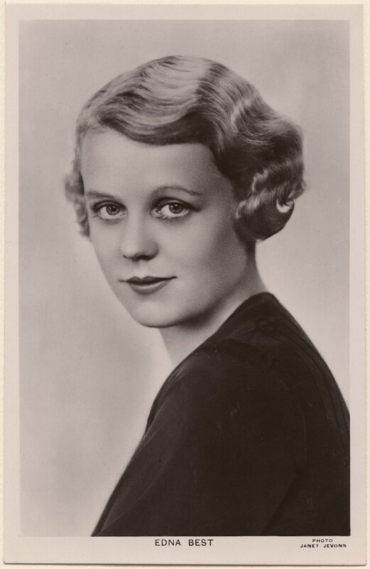 Edna Best, by Janet Jevons, 1920s - NPG x198088 - © reserved; collection National Portrait Gallery, London