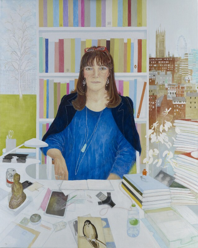 Dame Gail Rebuck, by Jennifer McRae, 2015 - NPG 7018 - © National Portrait Gallery, London