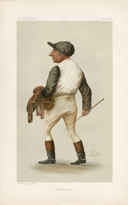 Charles Wood ('Men of the Day. No. 359.'), by Liborio Prosperi ('Lib'), published in Vanity Fair 22 May 1886 - NPG D44280 - © National Portrait Gallery, London