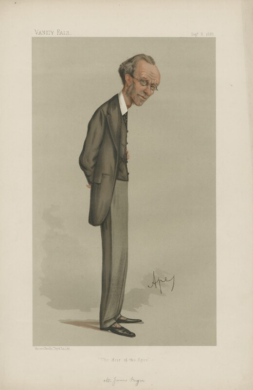 James Payn ('Men of the Day. No. 409.'), by Carlo Pellegrini, published in Vanity Fair 8 September 1888 - NPG D44402 - © National Portrait Gallery, London