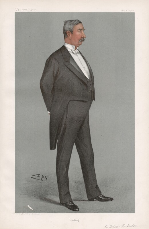 Sir Redvers Henry Buller ('Men of the Day. No. 771.'), by Sir Leslie Ward, published in Vanity Fair 18 January 1900 - NPG D44996 - © National Portrait Gallery, London