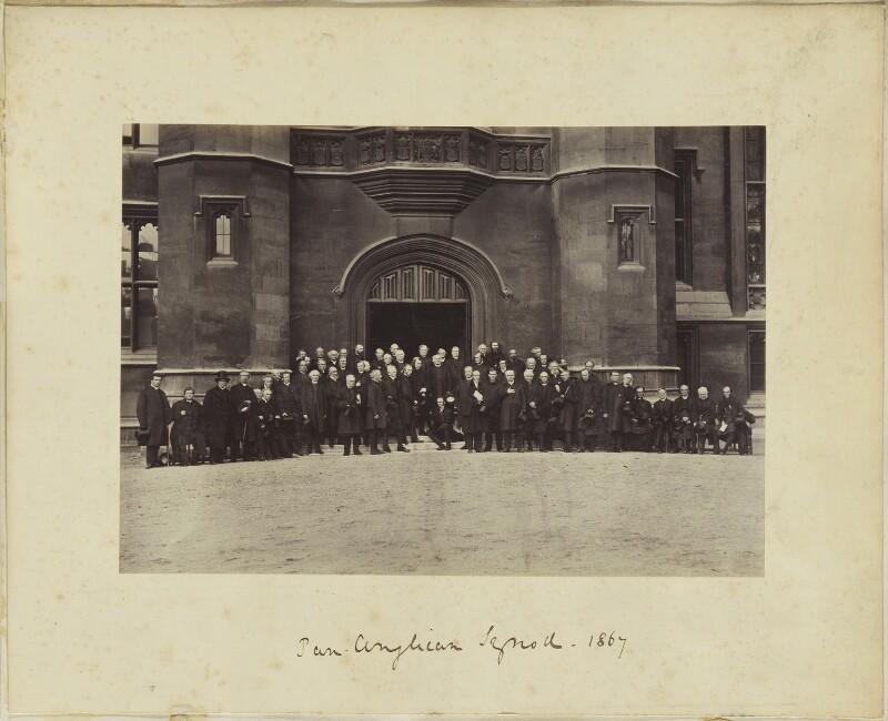 'Pan-Anglican Synod, 1867', by Mason & Co (Robert Hindry Mason), September 1867 - NPG Ax139190 - © National Portrait Gallery, London