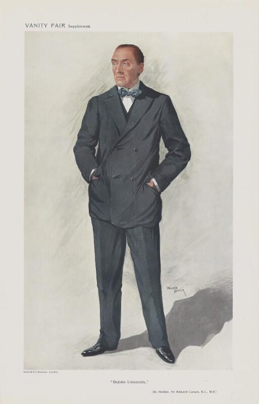 Edward Henry Carson, 1st Baron Carson ('Men of the Day. No. 1265.
