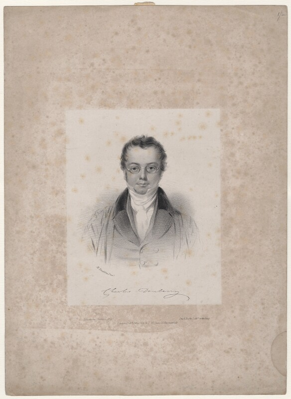 Charles Giles Bridle Daubeny, by Day & Haghe, published by  Thomas McLean, after  Moses Haughton the Younger, published April 1836 - NPG D45889 - © National Portrait Gallery, London