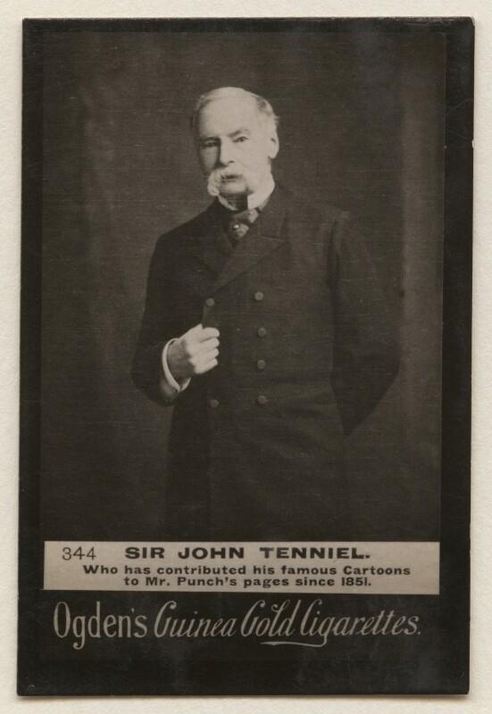 Sir John Tenniel, by Elliott & Fry, published by  Ogden's, published circa 1904 - NPG x193110 - © National Portrait Gallery, London