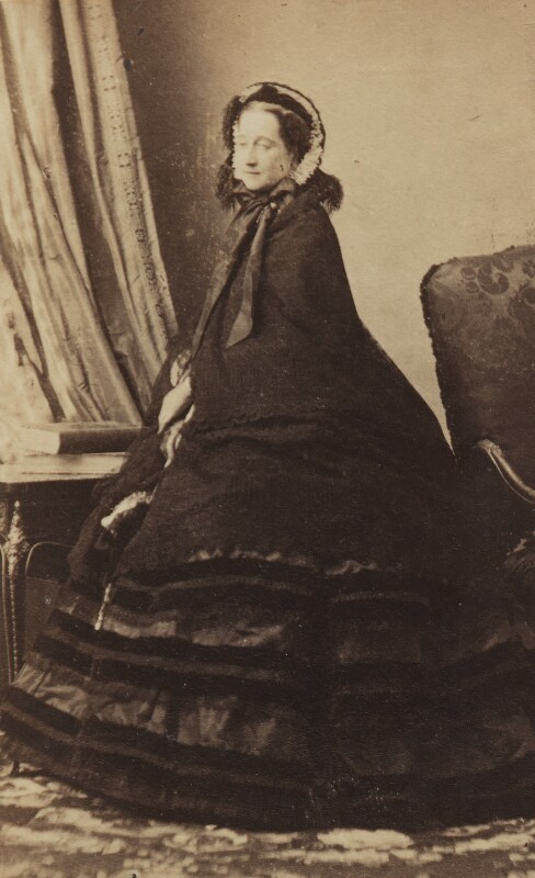 Eugénie, Empress of France, by Disdéri, circa 1859 - NPG Ax196522 - © National Portrait Gallery, London