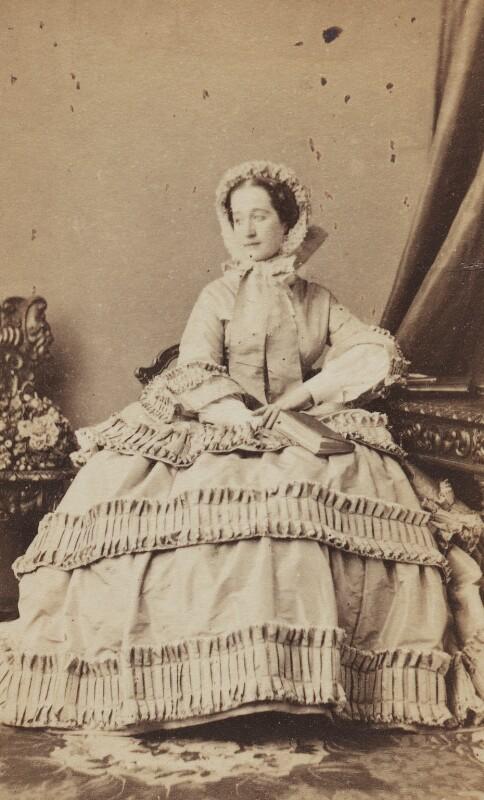 Eugénie, Empress of France, by Disdéri, circa 1858 - NPG Ax196524 - © National Portrait Gallery, London