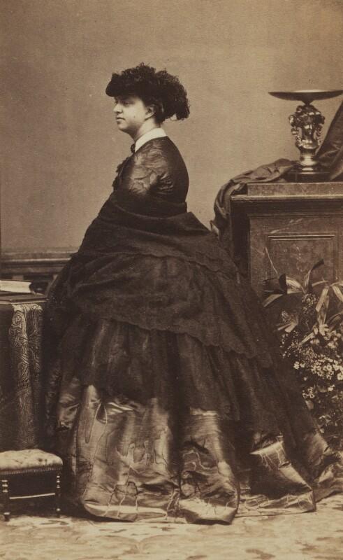 Princess Marie Clotilde Bonaparte, by Disdéri, circa 1860 - NPG Ax196532 - © National Portrait Gallery, London