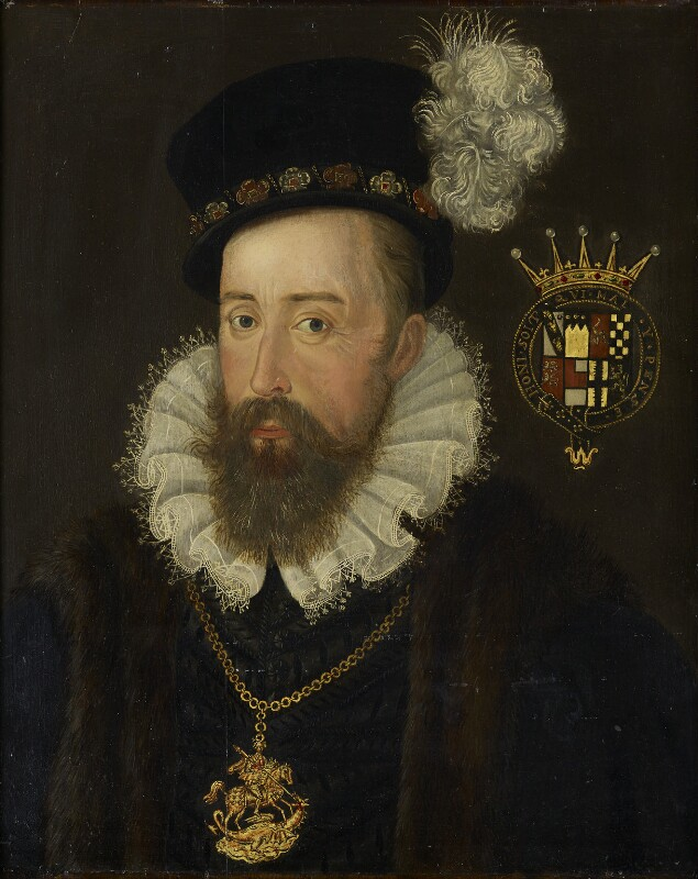 Henry Stanley, 4th Earl of Derby, by Unknown artist, late 16th century - NPG 7000 - © National Portrait Gallery, London