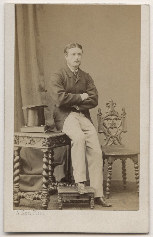George Frederick Ormsby, by Alexandre Ken, 1860s - NPG Ax196852 - © National Portrait Gallery, London