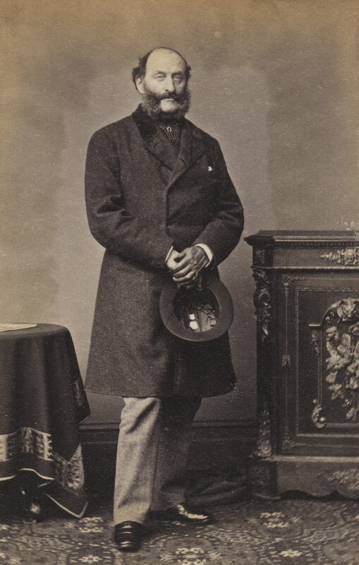 Arthur Shirley, by Unknown photographer, 1860s - NPG Ax196683 - © National Portrait Gallery, London