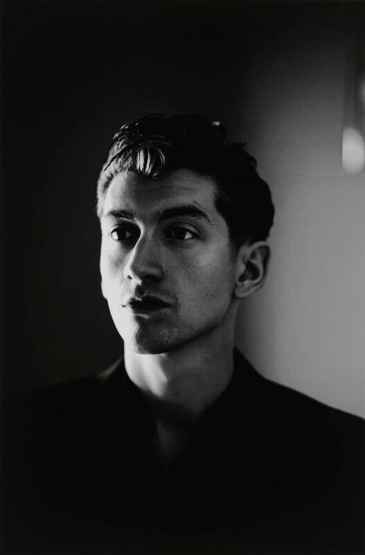 Alex Turner, by Julian Broad, 2013 - NPG x199265 - © Julian Broad / National Portrait Gallery, London