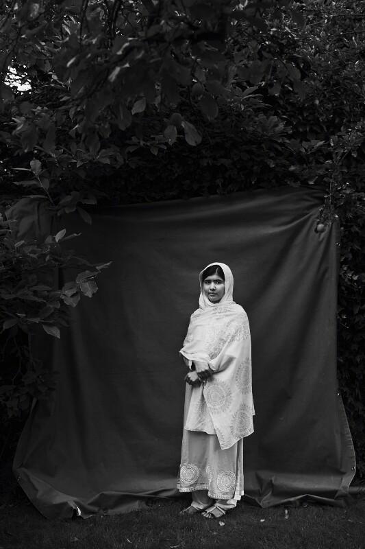 Malala Yousafzai, by Julian Broad, 2013 - NPG x199266 - © Julian Broad / National Portrait Gallery, London