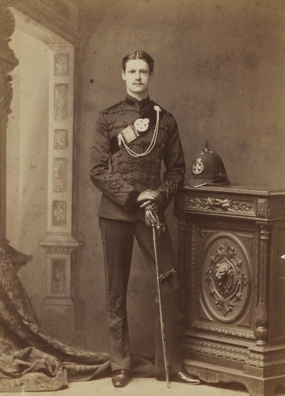 Richard John Strachey, by Thomas Fall, late 1880s - NPG Ax160916 - © National Portrait Gallery, London
