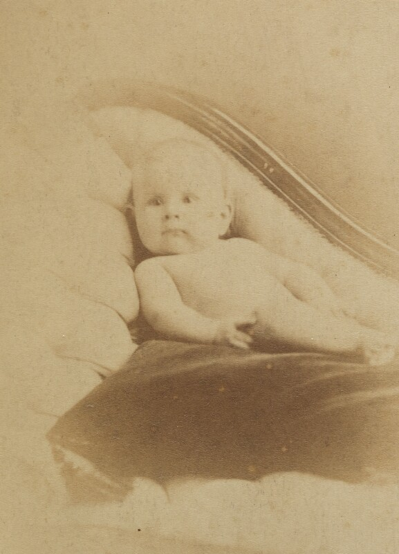 Pippa Strachey, by (Cornelius) Jabez Hughes, 1872 - NPG Ax160919 - © National Portrait Gallery, London