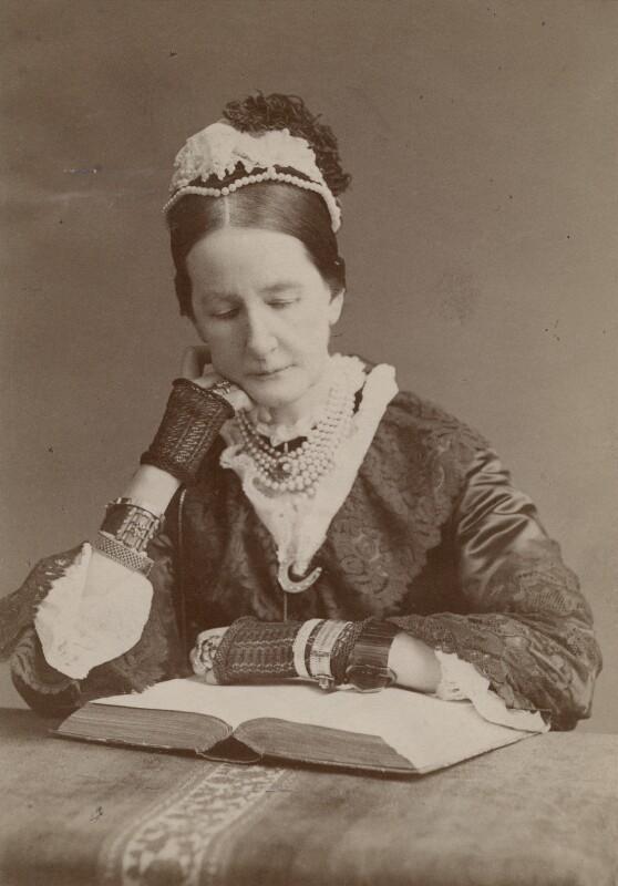 Angela Burdett-Coutts, Baroness Burdett-Coutts, by Francis Henry Hart, for  Elliott & Fry, 1882 - NPG x196480 - © National Portrait Gallery, London