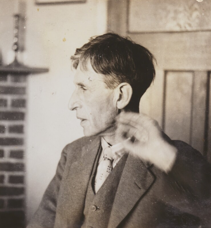 Leonard Sidney Woolf, by Barbara Strachey, 1938 - NPG Ax160975 - © National Portrait Gallery, London