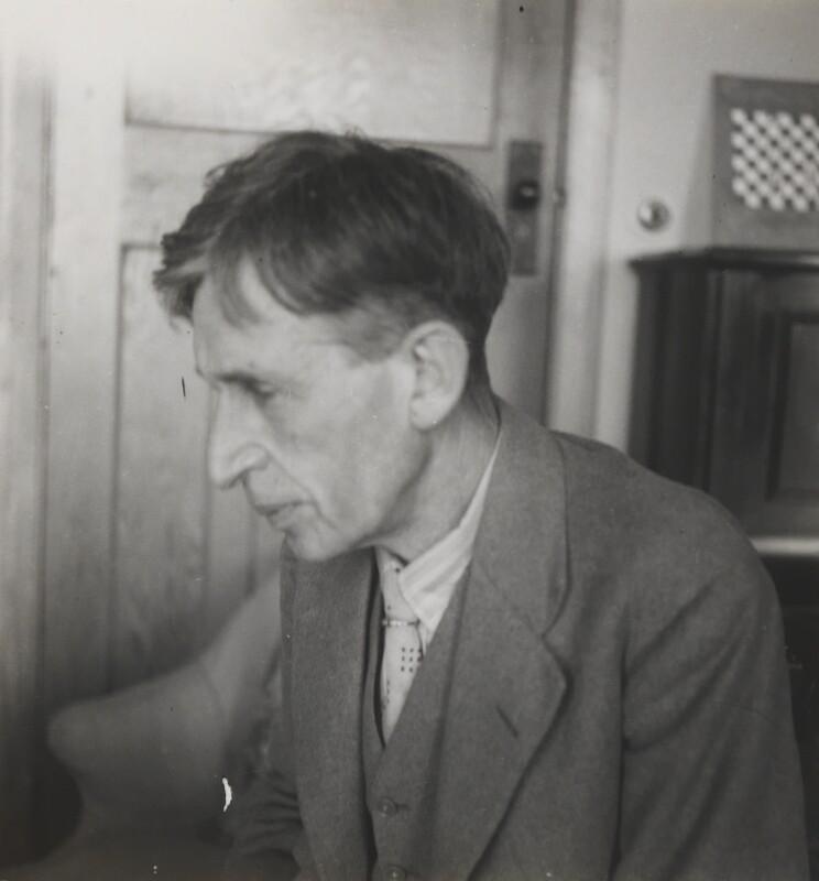 Leonard Sidney Woolf, by Barbara Strachey, 1938 - NPG Ax160976 - © National Portrait Gallery, London