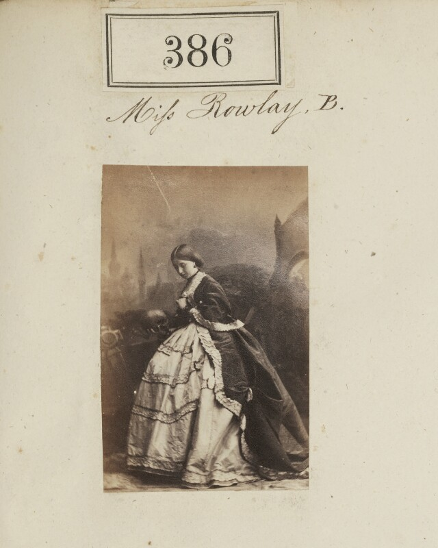 Florence Grosvenor (née Rowley), Marchioness of Waterford, by Camille Silvy, 1860 - NPG Ax50142 - © National Portrait Gallery, London
