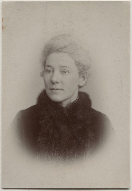 (Emma) Jane Catherine Cobden Unwin, by Fradelle & Young, 1890s - NPG x131220 - © National Portrait Gallery, London