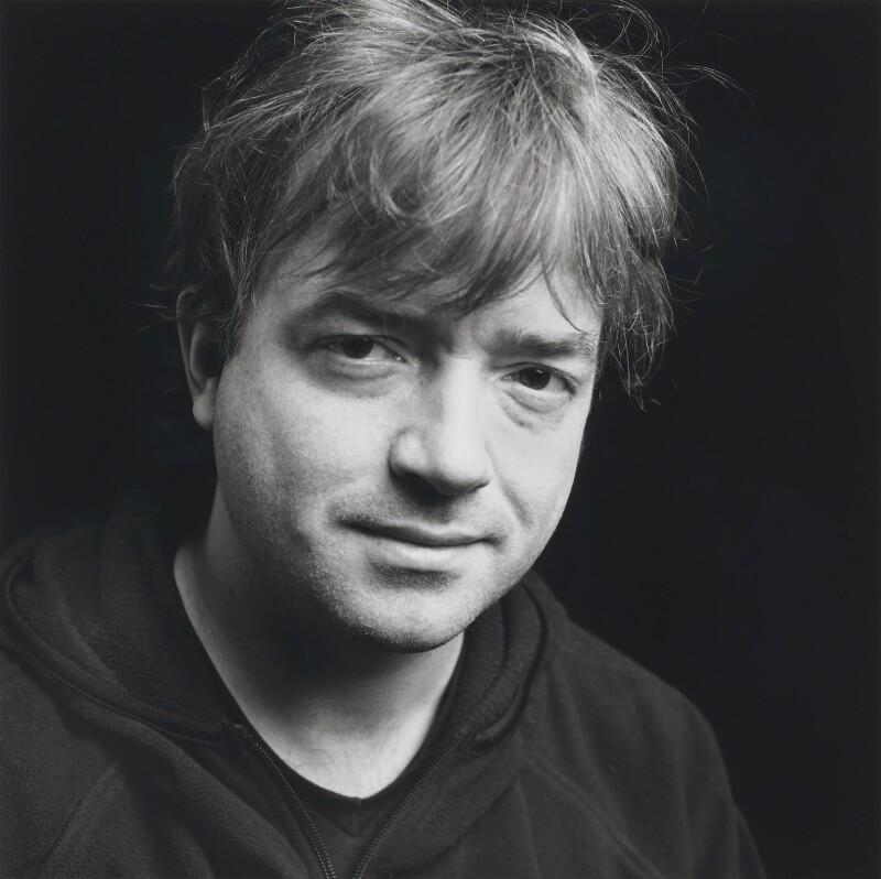Glyn Maxwell, by Norman McBeath, 19 January 2002 - NPG x199344 - © Norman McBeath / National Portrait Gallery, London