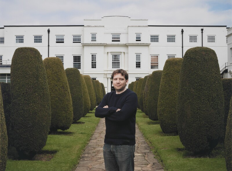 Gareth Edwards at Pinewood Studios by Anderson & Low © Anderson & Low; collection National Portrait Gallery