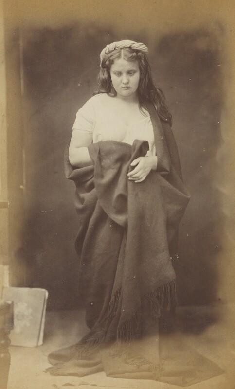 Unknown woman, by Oscar Gustav Rejlander, 1860-1866 - NPG P2011(9) - © National Portrait Gallery, London