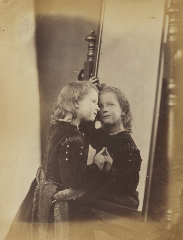 Unknown child, by Oscar Gustav Rejlander, 1860-1866 - NPG P2011(11) - © National Portrait Gallery, London