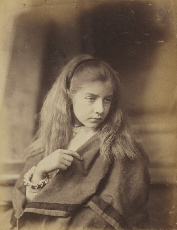 Unknown girl, by Oscar Gustav Rejlander, 1860-1866 - NPG P2011(12) - © National Portrait Gallery, London